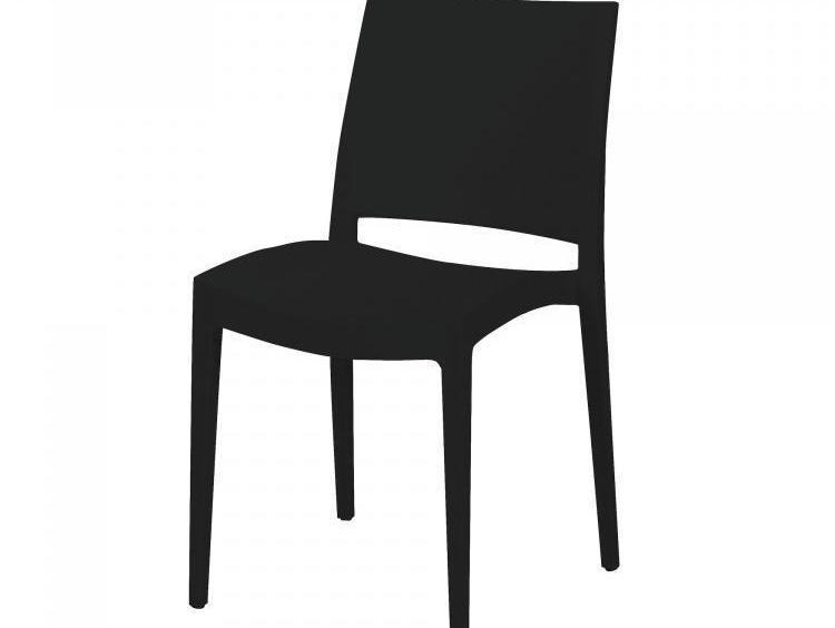 Designstoel zwart