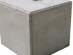 verankering in betonblok