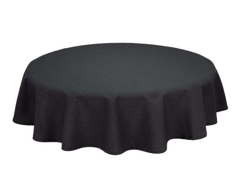 Zwart Tafellaken 300 x 300 cm
